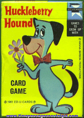 ©1961 Unopened Huckleberry Hound Card Game