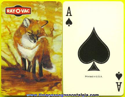RAY-O-VAC Advertising Playing Card Deck
