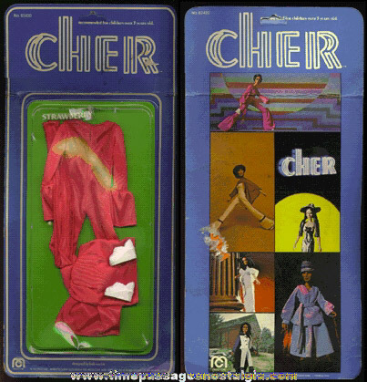 Unopened ©1976 CHER Mego Doll Outfit