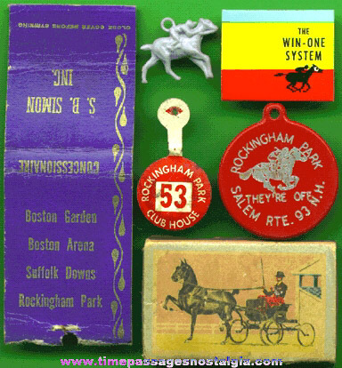 (6) Old Horse Racing Items