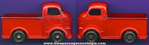 Old Painted Lead Toy Truck