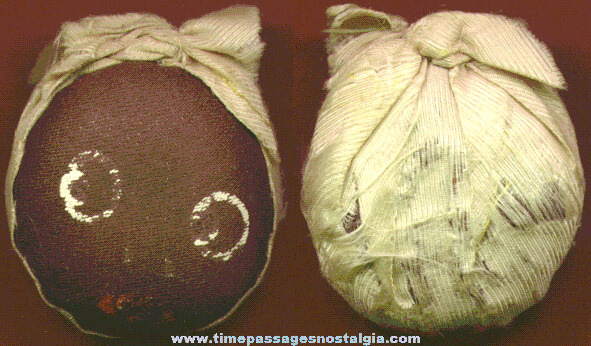 Old Black Memorabilia Folk Art Sewing Pin Cushion