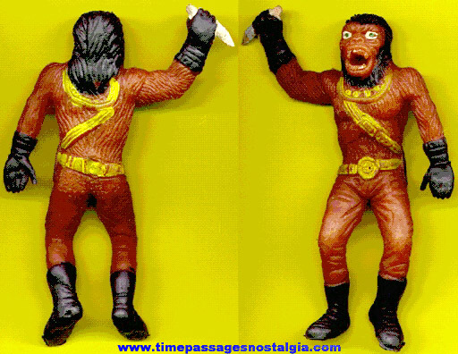 1973 PLANET OF THE APES Squishy Rubber Ape Figure
