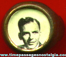 Old Frank Sinatra Real Photo Toy Ring