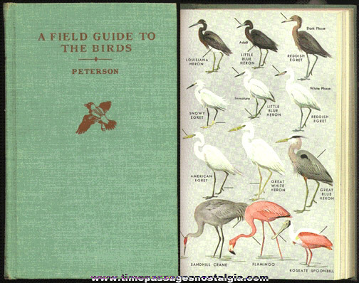 """©1961 """"Field Guide To The Birds"""" Hard Back Book"""