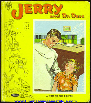 "�1964 ""JERRY AND DR. DAVE - A Visit To The Doctor"" Book"