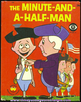 "�1960 ""THE MINUTE - AND - A - HALF - MAN"" Wonder Book"