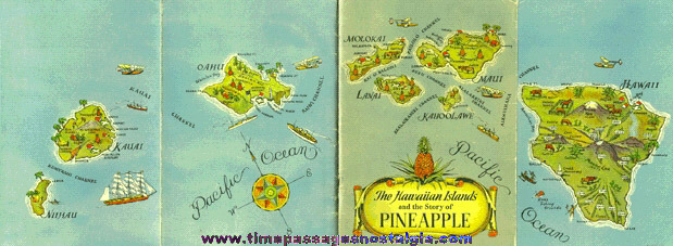 �1935 Hawaiian Islands & Pineapple Booklet