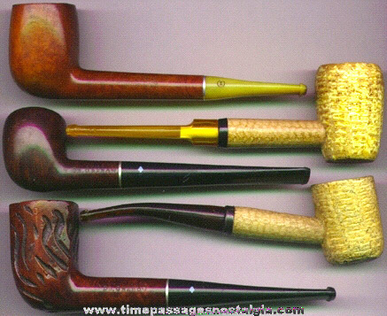 (5) Old Tobacco Pipes