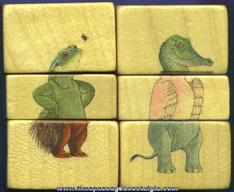 (2) Wooden Animal Puzzles