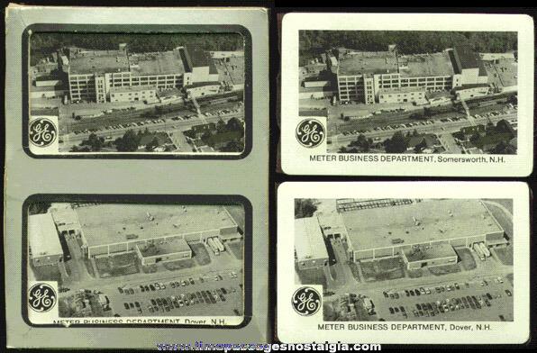 (2) Unopened General Electric Advertising Card Decks