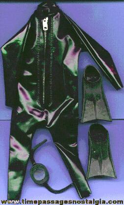 (4) Old GI Joe Diving items
