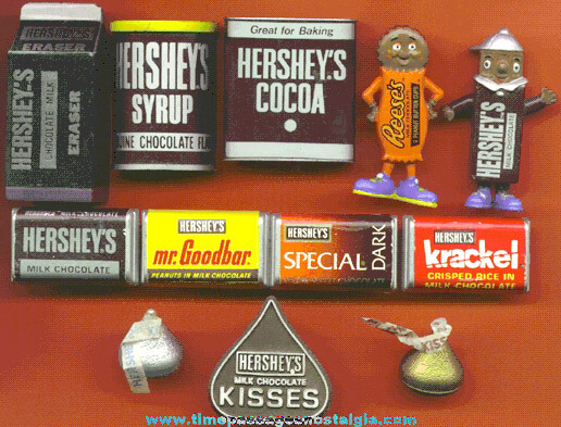(12) Small Hershey's Chocolate Advertising Items