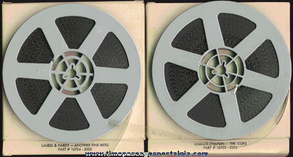 (2) Old 8mm Comedy Films