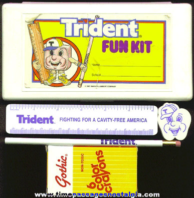 (5) Piece TRIDENT GUM School Premium