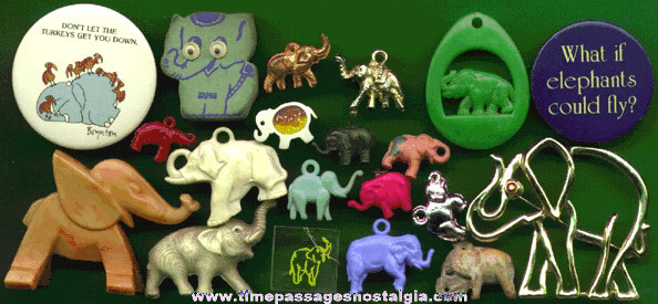 (20) Small Elephant Items