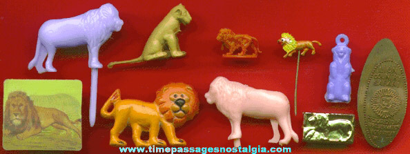 (10) Small Lion Items
