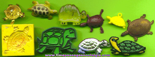 (10) Small Turtle Items