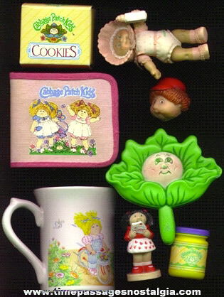 (8) Different Cabbage Patch Kids Items