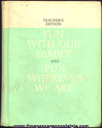 �1962 Teacher's Edition Basic Reader Book