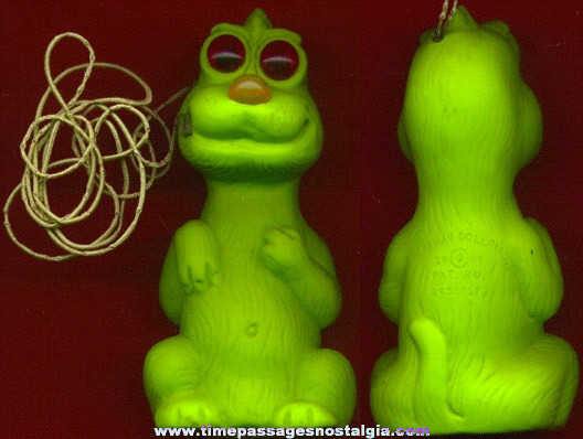 Unusual ©1968 Battery Operated Light Up Monster or Alien Character Figure