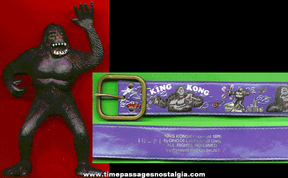 (2) �1976 KING KONG Items