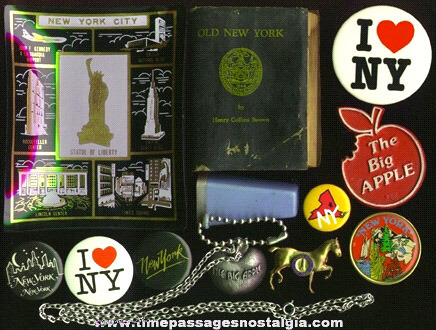 (12) NEW YORK Items