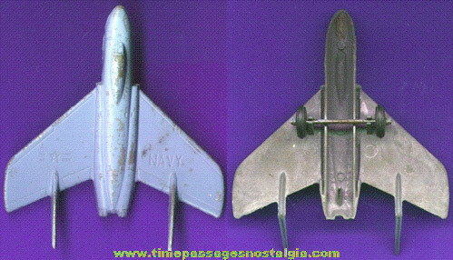 Old MIDGETOY Navy Jet Airplane