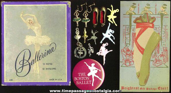 (15) Small Ballerina, Ballet, & Dance Items