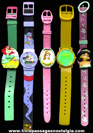 (5) Different Disney Movie Character Watches