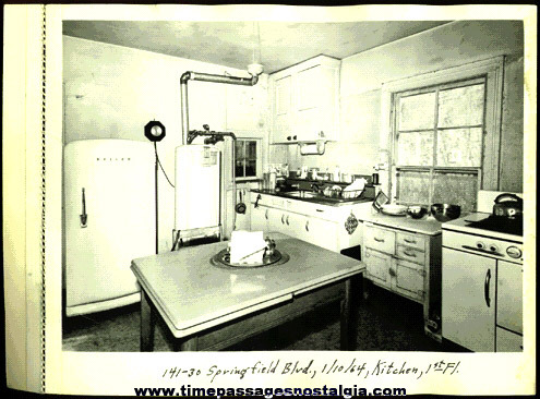 Large Old Kitchen Photograph