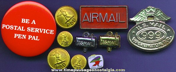 (10) Old United States Postal Service Items