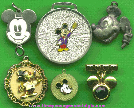 (6) Different Walt Disney / Mickey Mouse Jewelry Items