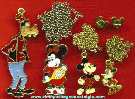 (5) Different Walt Disney Jewelry Items