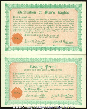 (12) �1942 Arcade Joke License Trading Cards