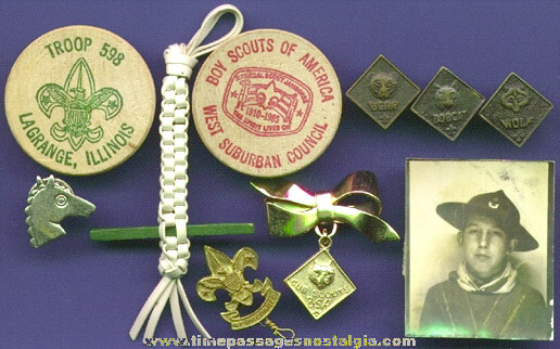 (10) Cub Scouts, Webelos, & Boy Scout Items