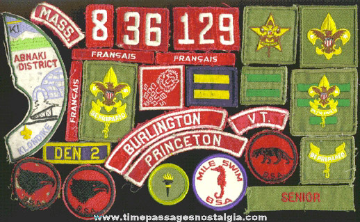 (26) Old Boy Scout Patches
