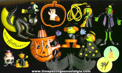 (15) Halloween Toys And Decorations
