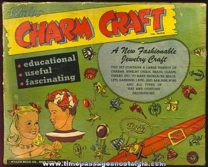 Complete 1950 WALCO Charm Craft Jewelry Kit