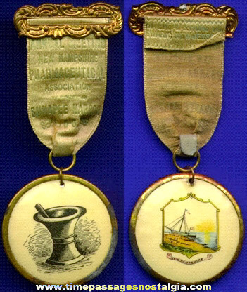 1899 Pharmaceutical Association Badge / Ribbon