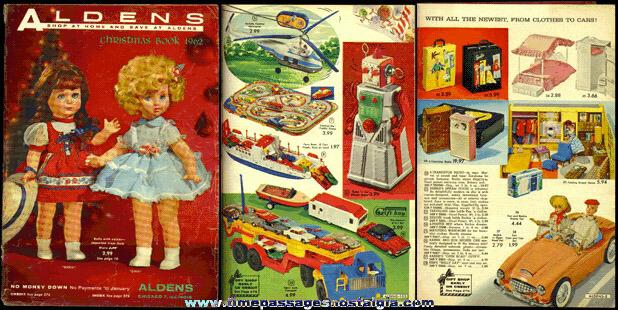 1962 ALDENS Christmas Wish Book / Catalog