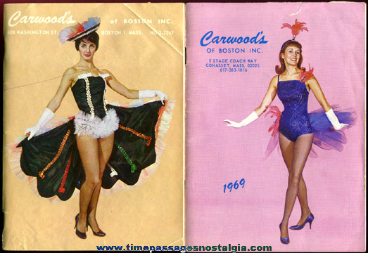 (3) 1960�s Dance Costume & Accessories Catalogs
