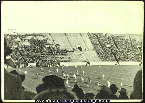 (5) 1939 Brown University vs. Yale Football Photographs