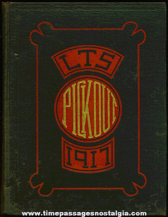 1917 LOWELL TEXTILE SCHOOL Year Book