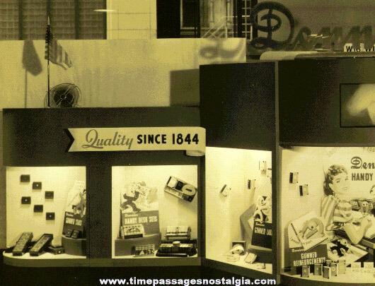 (2) 1940 DENNISON Advertising Items
