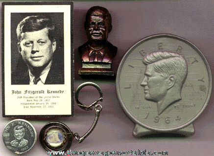 (14) Old President JOHN F. KENNEDY Items