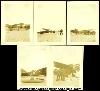 (11) Old Airplane Photographs