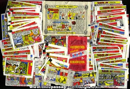 (70) BAZOOKA Bubble Gum Bazooka Joe Comics