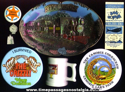 (8) Different Amusement Park Advertising Souvenir Items