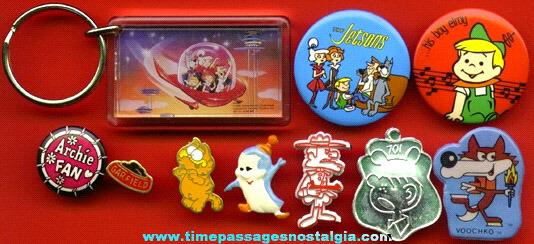 (10) Small Television Cartoon Items